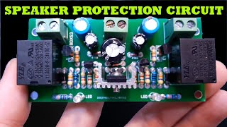 What Does DC Voltage Do To Your Speaker ?  Speaker Protection Circuit
