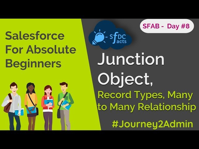 SFAB Day #8   Record Types   Junction Object   Many To Many Relationship   SFDCFacts