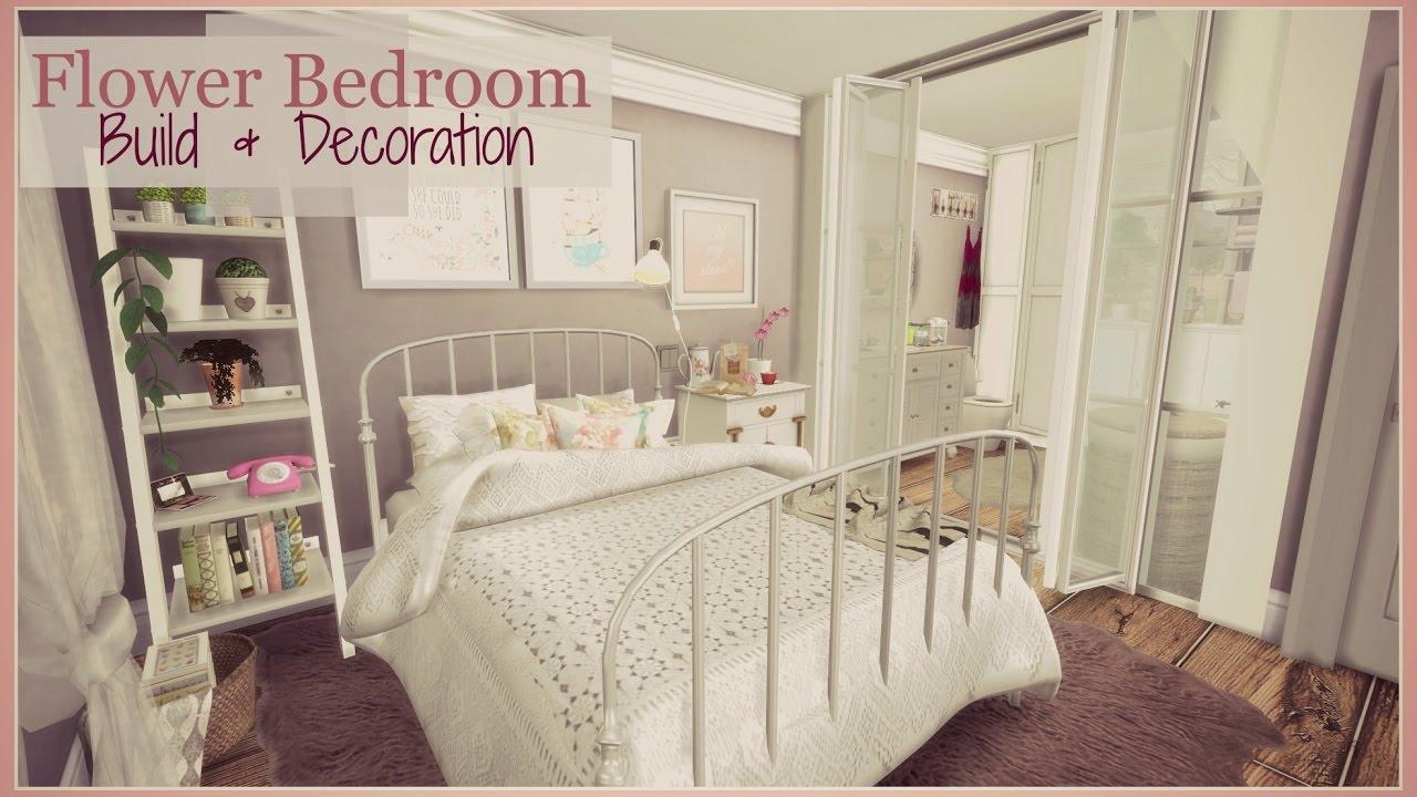 Superb Sims 4   Flower Bedroom (Build U0026 Decoration)