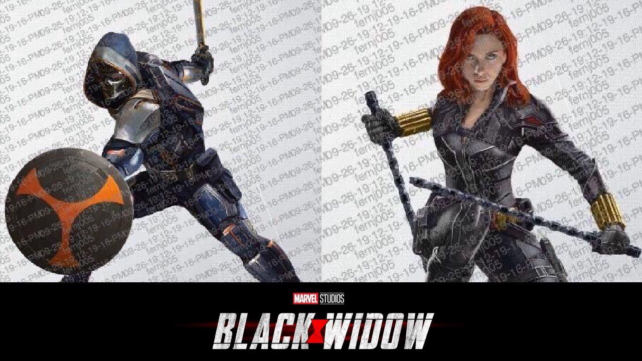 Leaked Black Widow Promo Art Taskmaster Natasha Romanoff S New Look