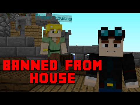 DanTDM - BANNED FROM SOMEONE'S HOUSE?! - Minecraft Animation