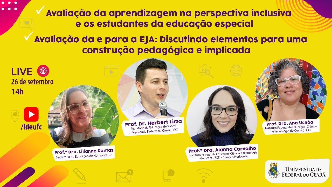 [AULA 8] Avaliação da Aprendizagem na Educação Especial e na Educação de Jovens e Adultos