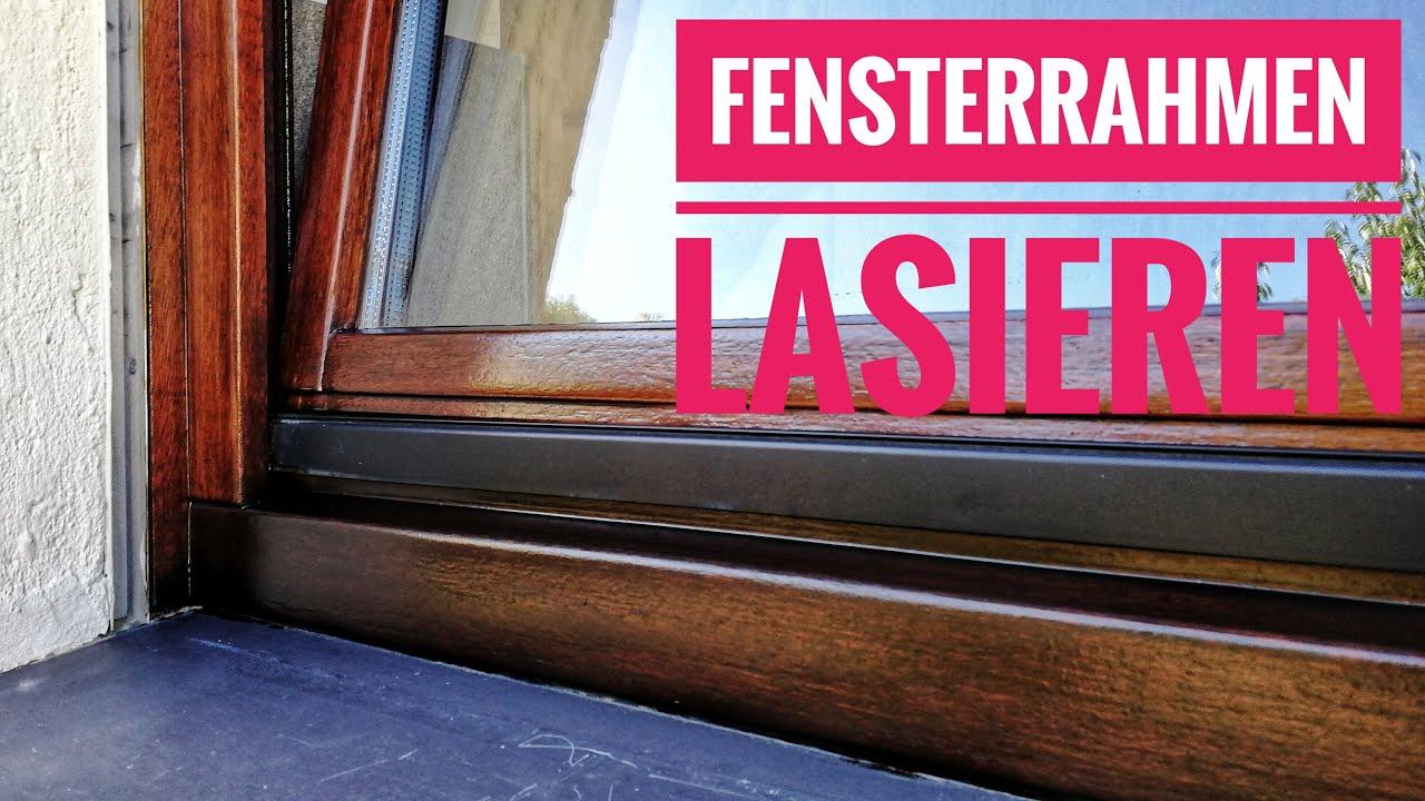 Bekannt Holzfenster streichen / lasieren - so geht´s gut von der Hand OI43