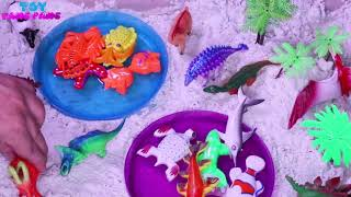Sea Animal Fish Toys Best Learning Colors Video For Children Toddlers Fun Educational Video