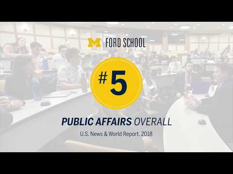 .@fordschool - The Ford School ranked number 5 program of public affairs in the U.S.