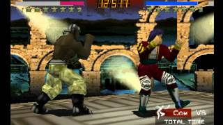 Fighters Destiny N64 - Gameplay