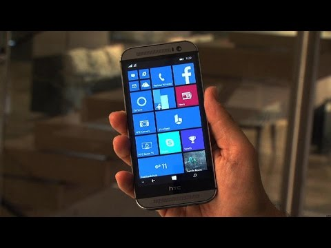 HTC One M8 gets the Windows Phone treatment