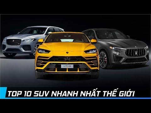 TOP 10 XE SUV NHANH NHẤT THẾ GIỚI   XE24h