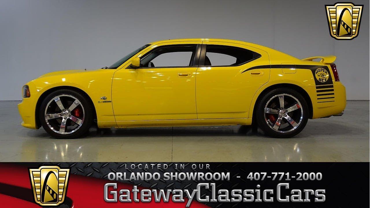 2007 Dodge Charger SRT 8 Super Bee (Supercharged) Gateway Orlando ...