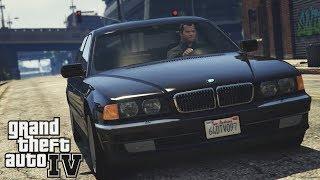 Обзор мода на BMW E38 750i  | Легендарный BMW E38 в GTA 4