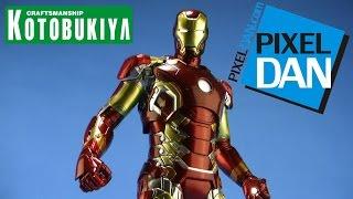Avengers Age of Ultron Iron Man Mark XLIII ArtFX 1/6 Scale Kotobukiya Statue Video Review