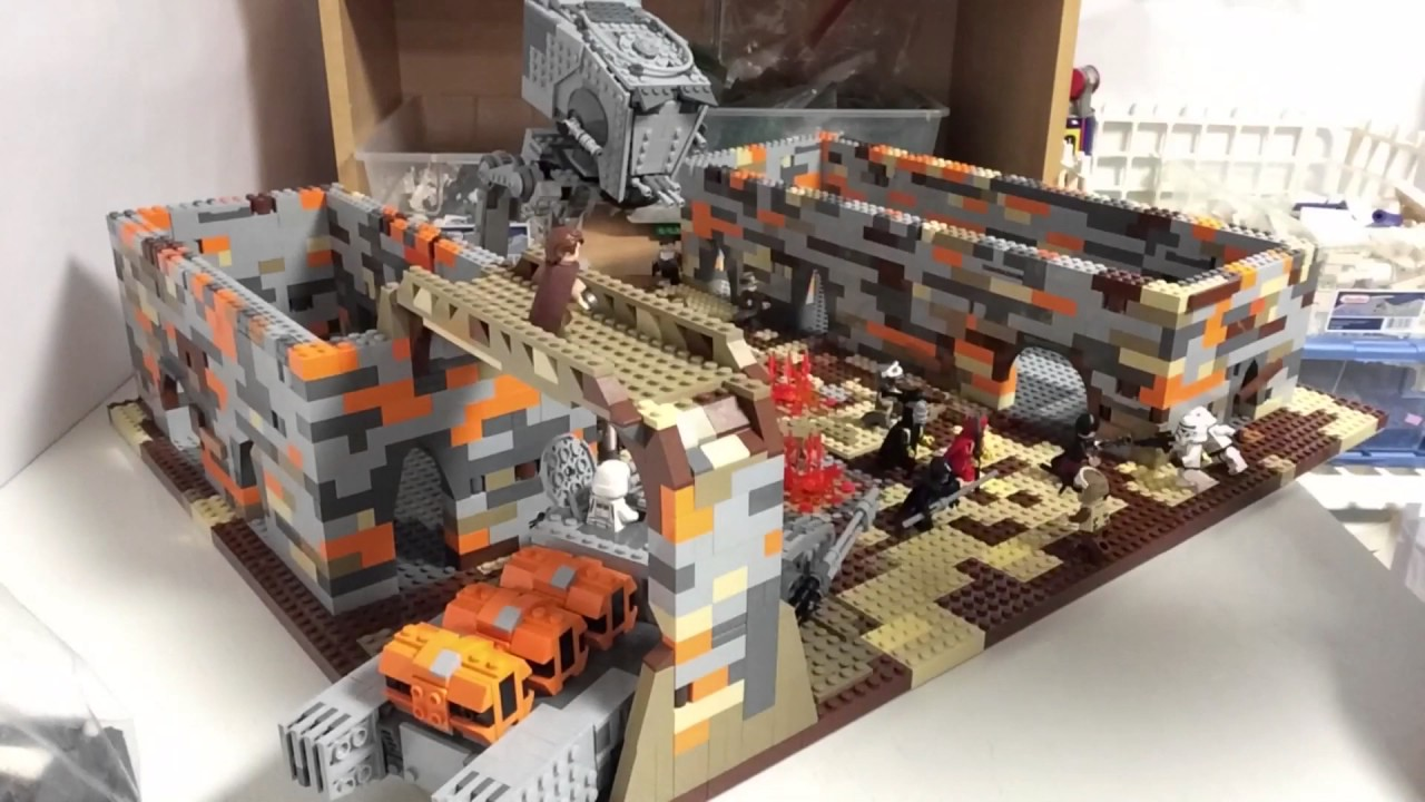 Lego Star Wars Moc On Jedha City Update 10 Market And New Buildings