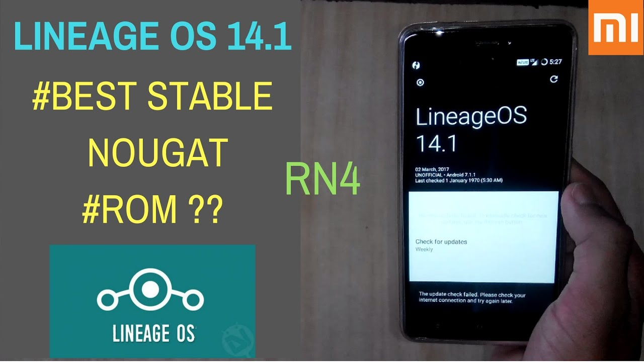 LINEAGE 14 1(NOUGAT) ROM For Redmi Note 4 | Stable OR Not?? | How To  Install Nougat On Redmi Note 4?