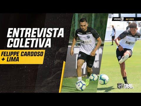 COLETIVA Coletiva Lima e Felippe Cardoso 02082019  Vozão TV