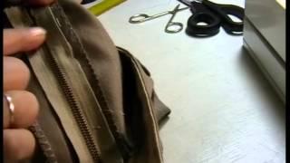 3  VIDEO   ZDARMA   všívanie zipsov