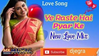 Ye Raste Hai Pyar Ke   Hindi Romantic Dj Remix Song   Ajay Devgan, Madhuri, Shaan   DJ MK MUSIC