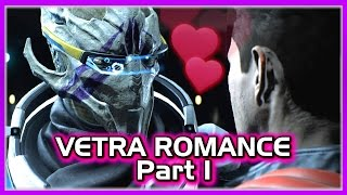 Mass Effect Andromeda 💖 Vetra Romance with Male Ryder - Part 1