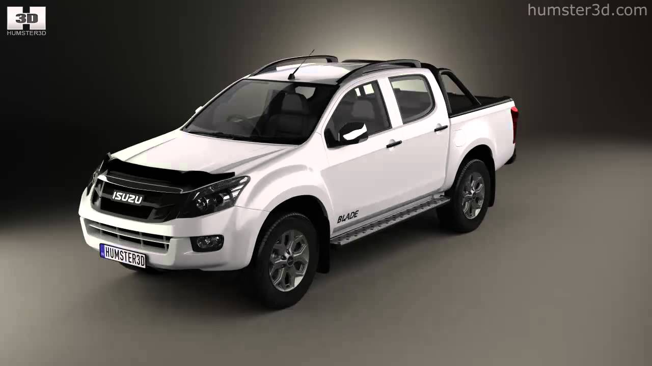 isuzu d max double cab blade 2014 by 3d model store. Black Bedroom Furniture Sets. Home Design Ideas