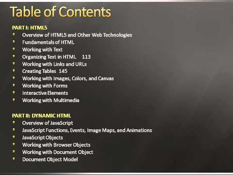 HTML 5 Black Book.wmv