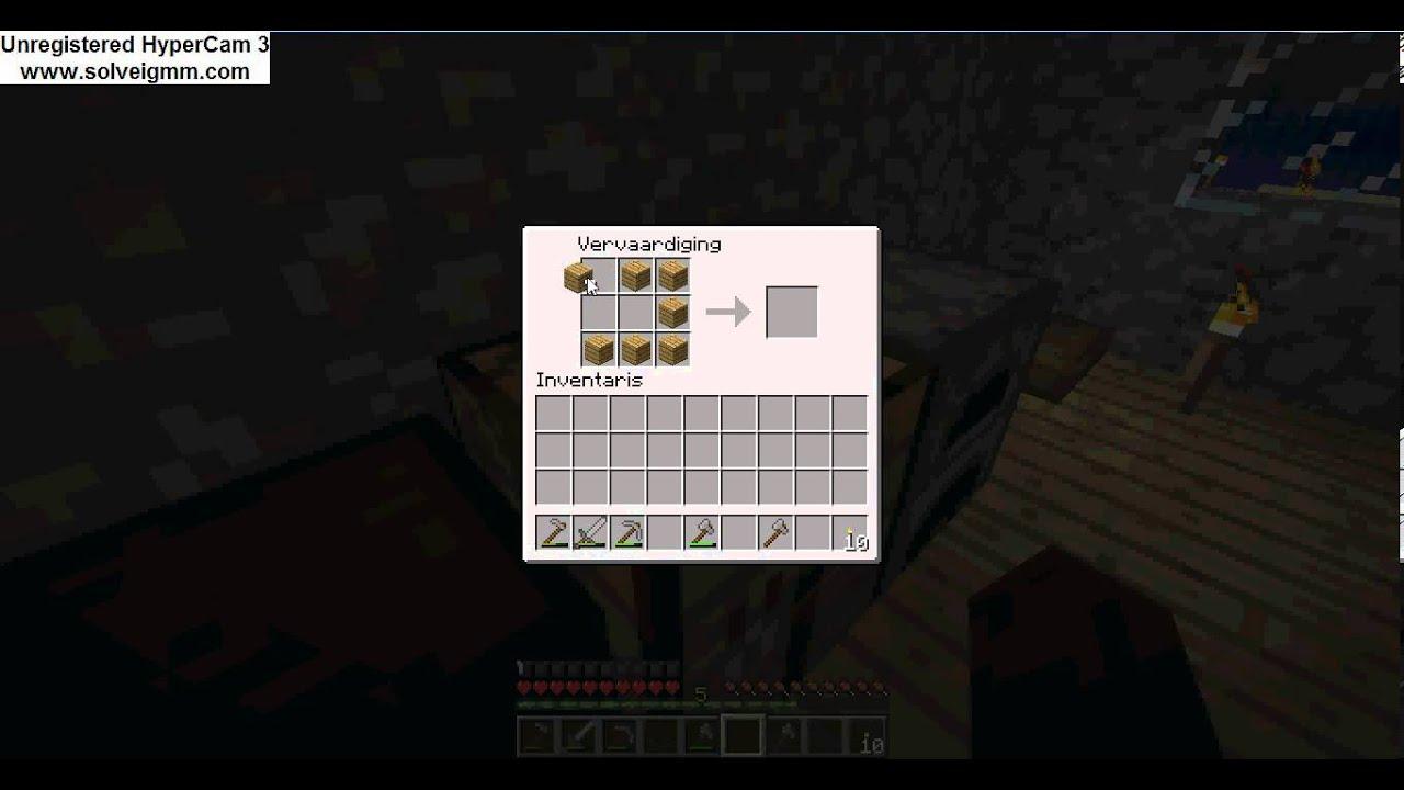 Hoe maak je een chest kist op minecraft youtube - Hoe maak je een woonkamer ...