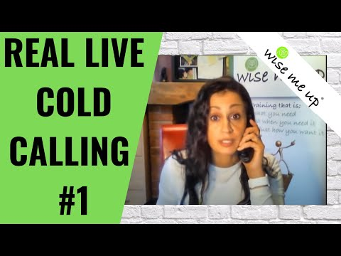 """Real """"Live Cold Call"""" (Part- 1) 