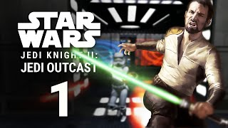 Star Wars Jedi Knight II: Jedi Outcast - Первые трудности (Ностальгия, 1080p, 60FPS)