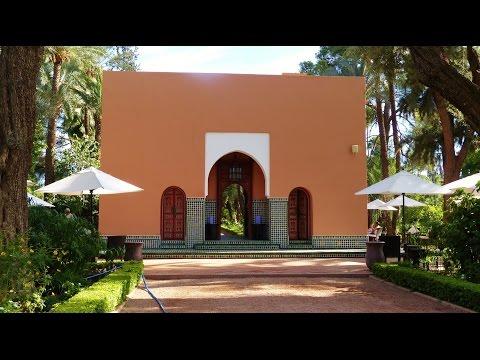 LA MAMOUNIA - Côté jardin .