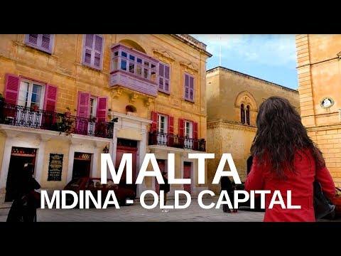MDINA, MALTA WALKING TOUR - in beautiful old Capital