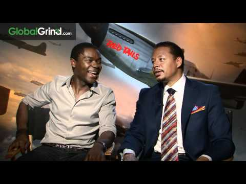 Terrence Howard and David Oyelowo Talk Red Tails