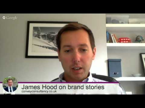 Convey Your Brand Story ~ James Hood ~ Interview
