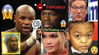Floyd Mayweather Says 50 Cent has HERPES from DJ & his Mixed Son is NOT his 😲 #EXPOSED