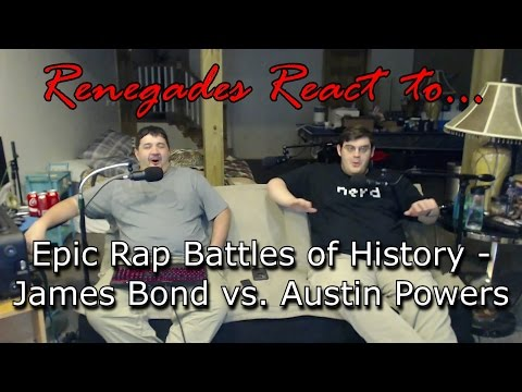 Renegades React to... Epic Rap Battles of History - James Bond vs. Austin Powers