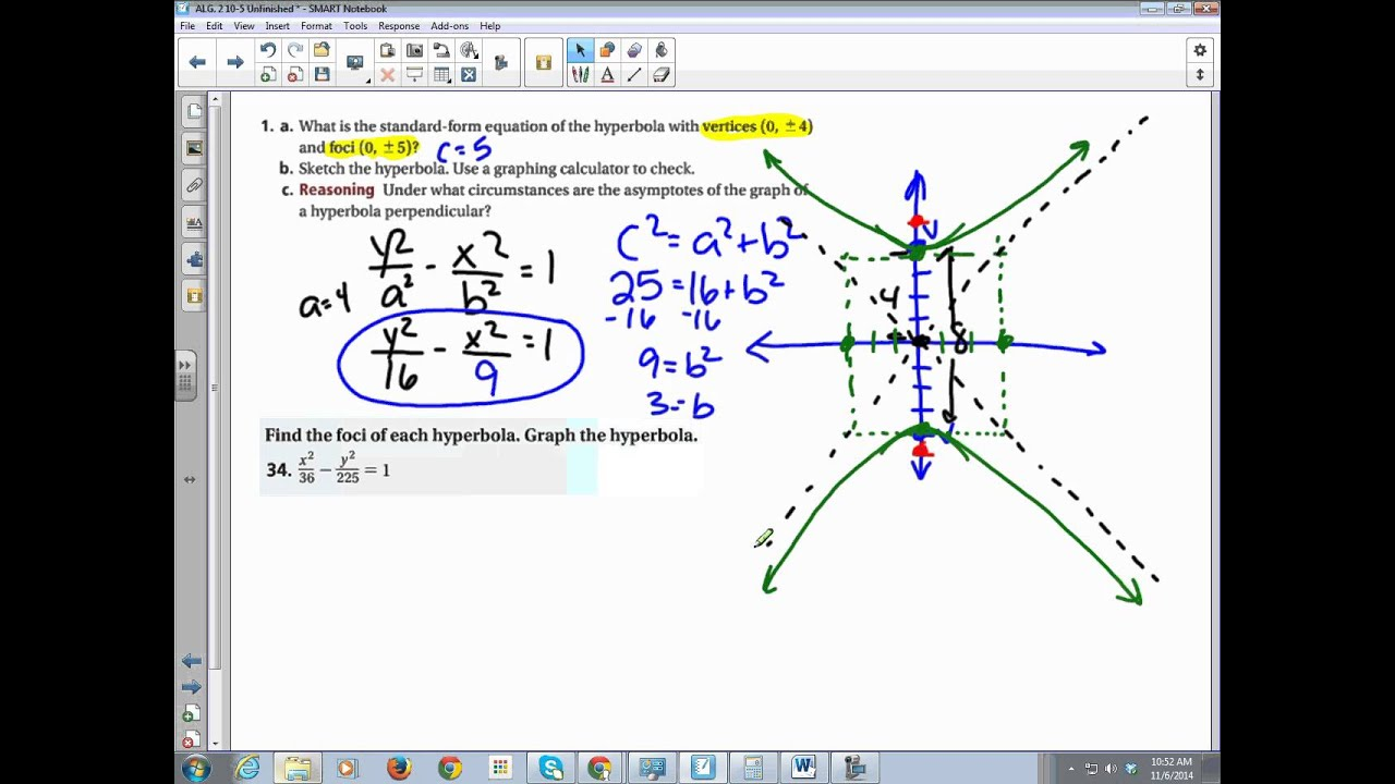 Chapter 10 section 5 hyperbolas youtube chapter 10 section 5 hyperbolas falaconquin