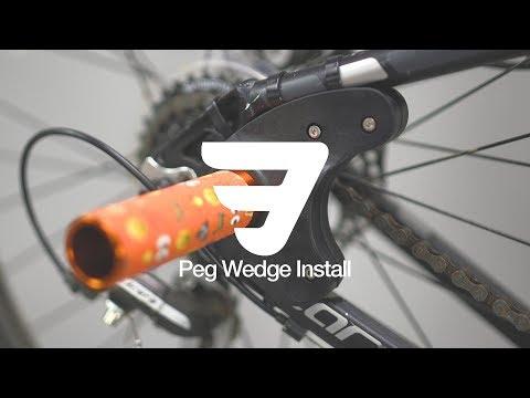 How To: Install Mafia Peg Wedge (Pegs On MTB)