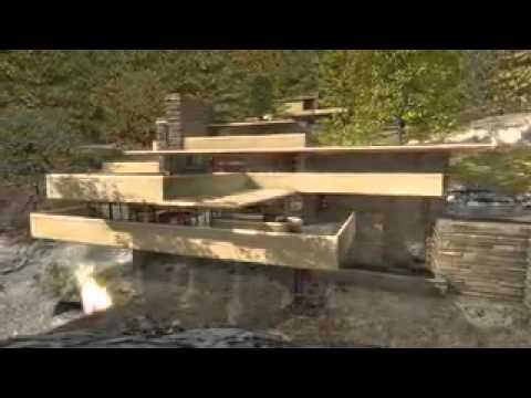 Frank lloyd wright casa da cascata portal do cdf youtube for Frank lloyd wright casa della prateria