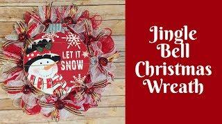 Christmas Crafts: Jingle Bell Christmas Wreath
