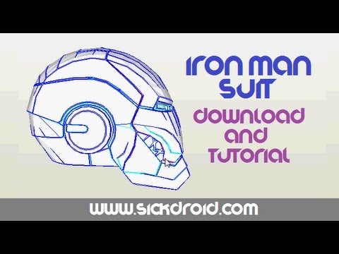 Iron Man Costume Tutorial Papercraft Youtube