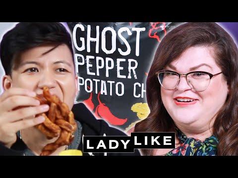 We Try Every Trader Joe's Snack • Ladylike