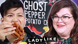 We Try Every Trader Joe's Snack • Ladylike
