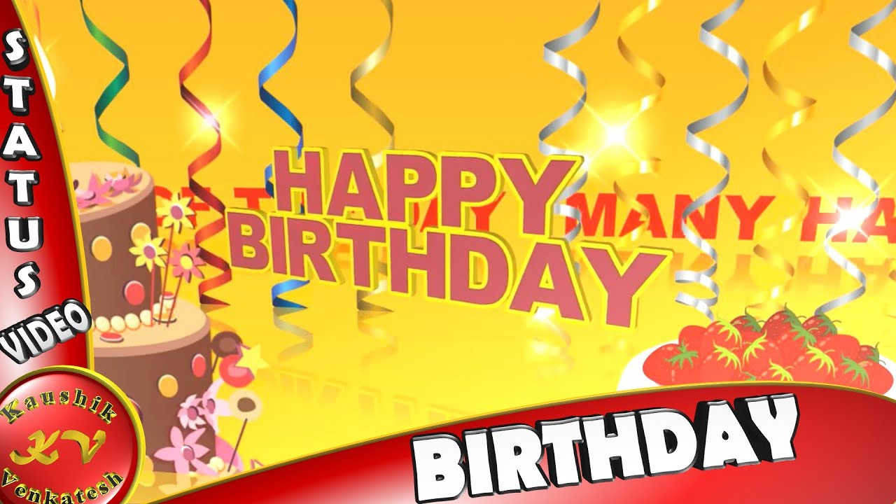 Happy Birthday Wishes For Best Friend Greetings Animation Video