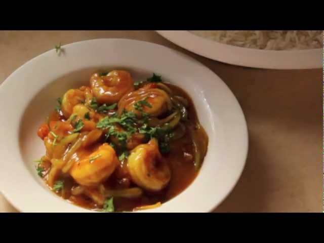 الروبيان على الطريقة الصينية Chinese Shrimp Youtube