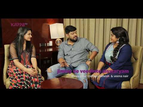 Chat Show - Jimmy Ee Veedinte Aishwaryam - Divya Pillai, Mithun Ramesh, Veena Nair