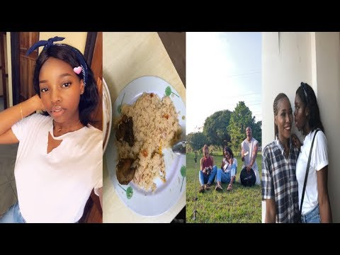 VLOG: A DAY IN MY LIFE   LEARNING FRENCH   TRYING AN IVORY COAST DISH FOR THE FIRST TIME!!
