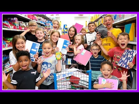 Back-to-School Grocery List Clothes, Supplies, and much more