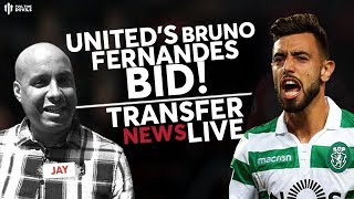 MAN UTD Transfers: United Finally Set To Bid For Fernandes!