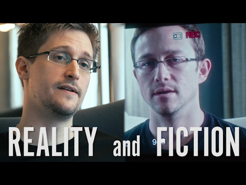 Comparing Scenes from Oliver Stones Snowden and Citizenfour
