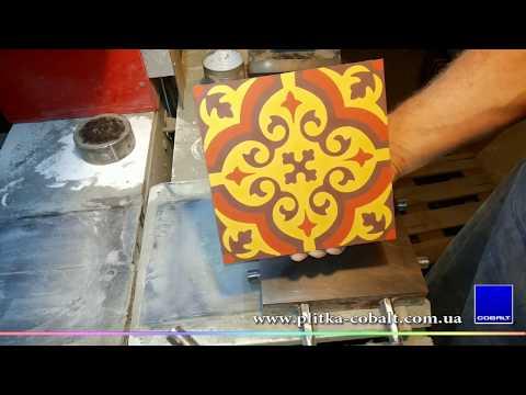 Плитка ручной работы COBALT Mosaico Hidraulico