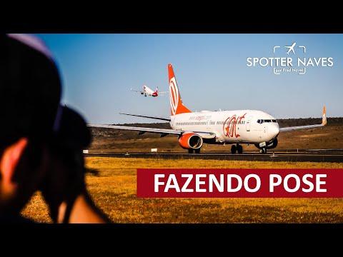Boeing GOL Fazendo Pose Para Fotos - 5º Spotter Day Sunset Brasília 2019