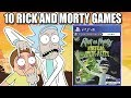 10 Schwifty Rick and Morty Games To Play Before Season 4
