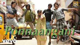 Goli Soda - Ponnaangani Full Song Audio | S.N. Arunagiri